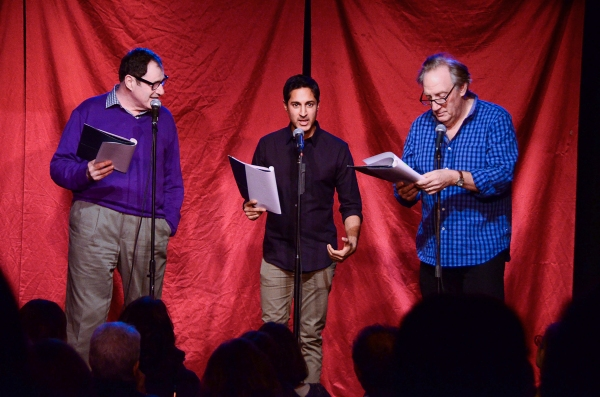 Richard kind, Maulik Pancholy and Alan Zwibel