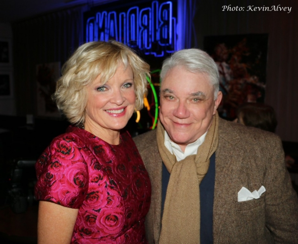 Christine Ebersole and Rex Reed