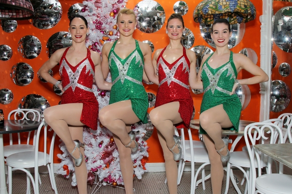 The Rockettes and Serendipity iIntroduce The Rockettes ''Rag Dolls'' Coconut Frrrozen Hot Chocolate