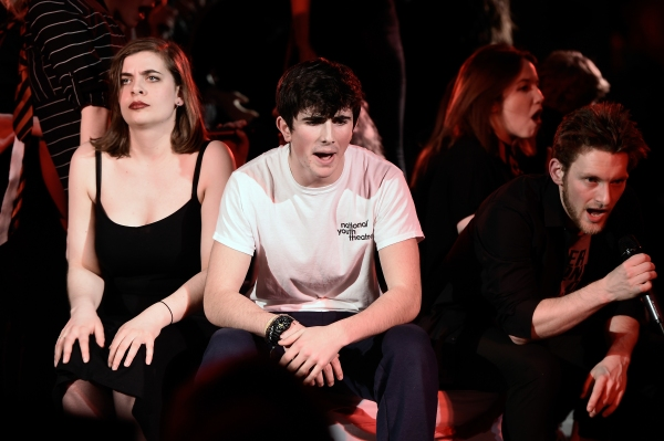 Cast of the National Youth Theatre West End REP season perform