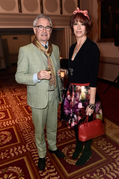 Theatre  David Gilmore and actress Fiona Mollison Photo