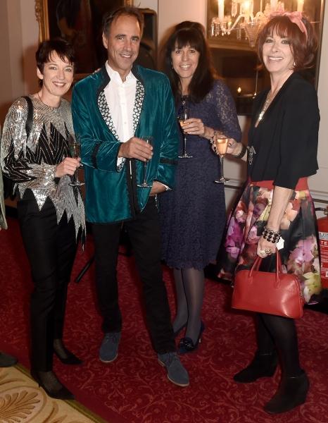 Dawn Airey, writer Anthony Horowitz, TV Producer Jill Green and actress Fiona Molliso Photo