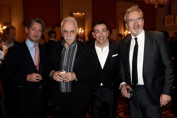 Peter Clayton, David Pearl, Paul Roseby and Larry Lamb