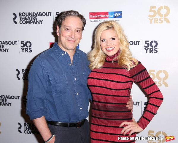 Jeremy Shamos and Megan Hilty