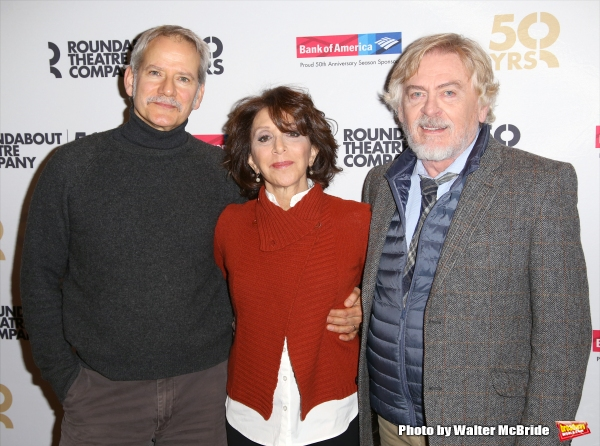 Campbell Scott, Andrea Martin and Daniel Davis