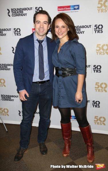 Rob McClure and Tracee Chimo