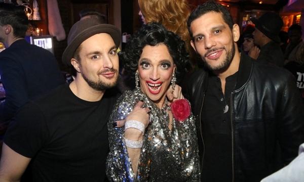 PAUL PECORINO (Sylvia St. Croix) with her boys ELIAS ROD and DANIEL MOZIE