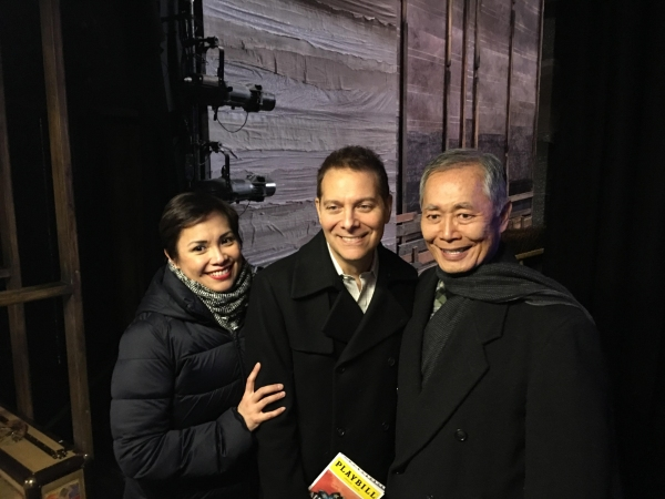Lea Salonga, Michael Feinstein, George Takei