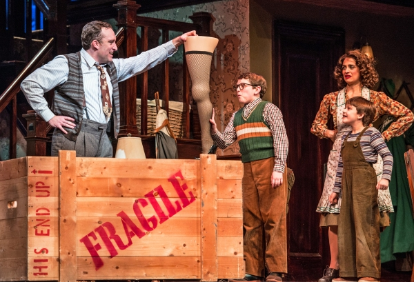 Photo Flash: First Look at Paper Mill Playhouse's A CHRISTMAS STORY