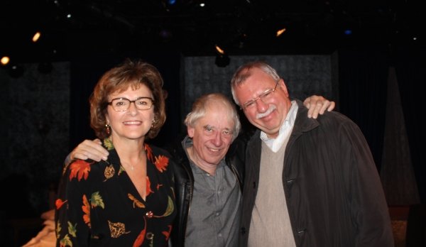 Angelina Fiordellisi, Austin Pendleton and Robert Dohmen