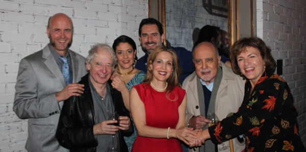 Larry Bull, Austin Pendleton, Andrea Cirie, Todd Gearhart, Jean Lichty, George Morfogen and Angelina Fiordellisi
