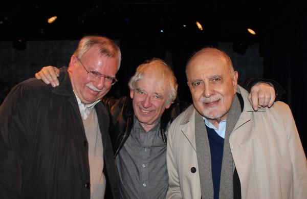 Robert Dohmen, Larry Pendleton and George Morfogen
