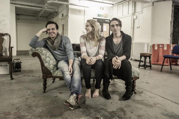 Andrew Scott, Joanna Vanderham, David Dawson Photo