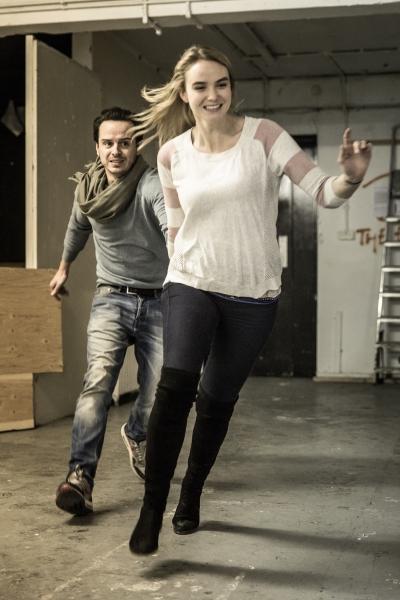 Andrew Scott, Joanna Vanderham Photo