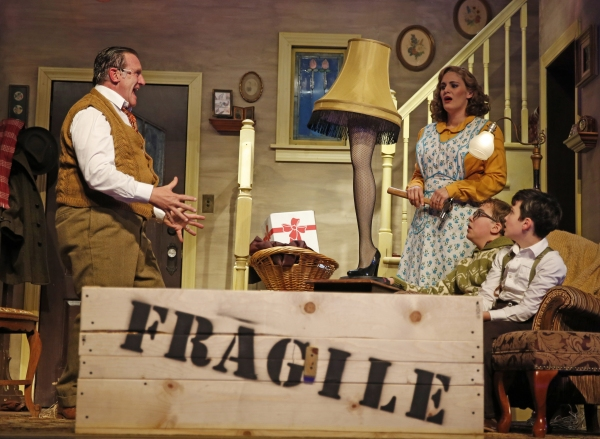 Michael Accardo plays the Old Man, Danni Smith plays the mother, Michael Harp is Ralp Photo