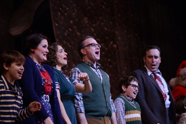 Photos: A CHRISTMAS STORY Cast Takes Opening Night Bows at Paper Mill Playhouse!