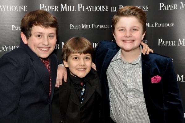 Colton Maurer, Hudson Loverro and Juday Immanuel