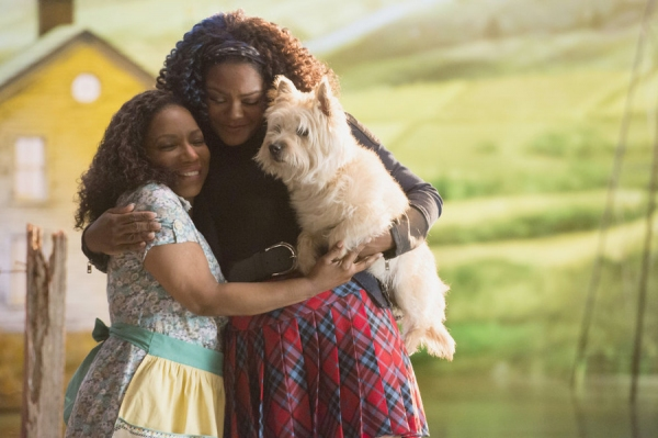 THE WIZ LIVE!  -- Promo Shoot Episodic -- Pictured: (l-r) Stephanie Mills as Auntie Em, Shanice Williams as Dorothy -- (Photo by: Virginia Sherwood/NBC)