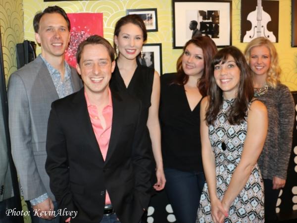 Michael Deleget, Jonathan Reid Gealt, Loren Allred, Jane Monheit, Addi McDaniel and W Photo