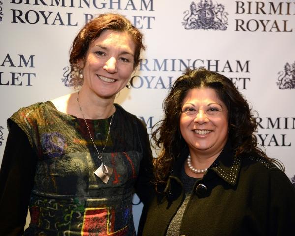 Birmingham Hippodrome Chief Executive Fiona Allan and Birmingham Royal Ballet Chief Executive Jan Teo