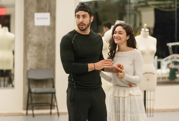 Photo Flash: In Rehearsal with Austin Colby, MaryJoanna Grisso, Natascia Diaz and More for Signature Theatre's WEST SIDE STORY