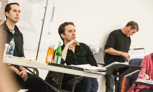 Parker Esse and  Matthew Gardiner Photo