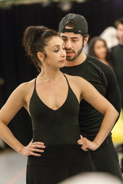 Natascia Diaz (Anita) and Sean Ewing (Bernardo)