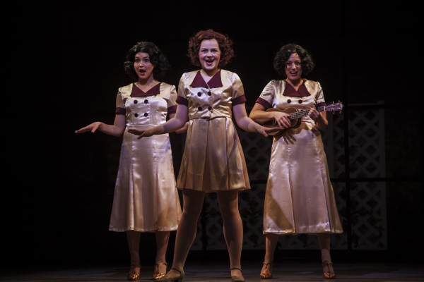 Ruby Rakos (center) stars as Judy Garland