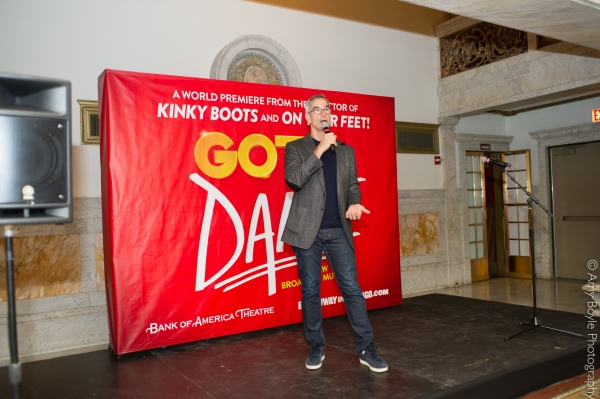 Photo Flash: Broadway-Bound GOTTA DANCE Company Meets the Press in Chicago