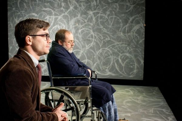 Chad Hewitt as David and Michael Moore as Walter