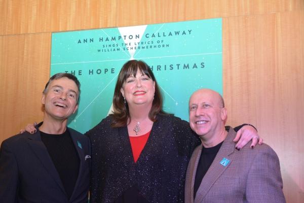 William Schermerhorn, Ann Hampton Callaway and Alex Rybeck Photo