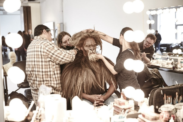 David Alan Grier as The Cowardly Lion -- (Photo by: Paul Gilmore/NBC)