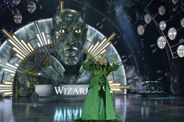 Queen Latifah as The Wiz -- (Photo by: Virginia Sherwood/NBC)