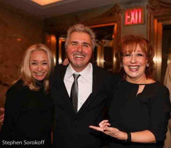Eda Sorokoff, Steve Tyrell, Joy Behar Photo