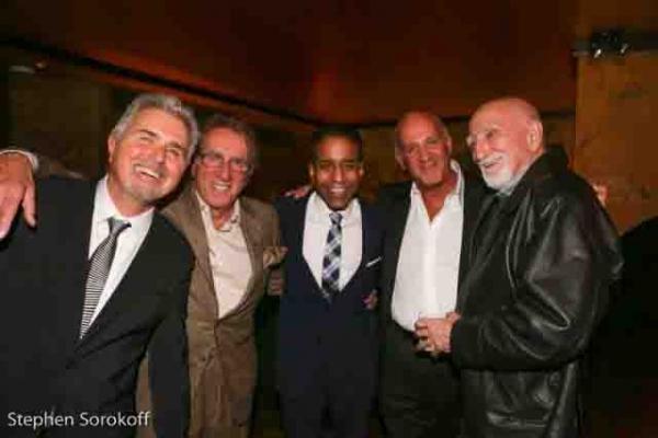 Steve Tyrell, Frankie Pellegrino, Loston Harris, Ronnie Copa, Dominick Chianese