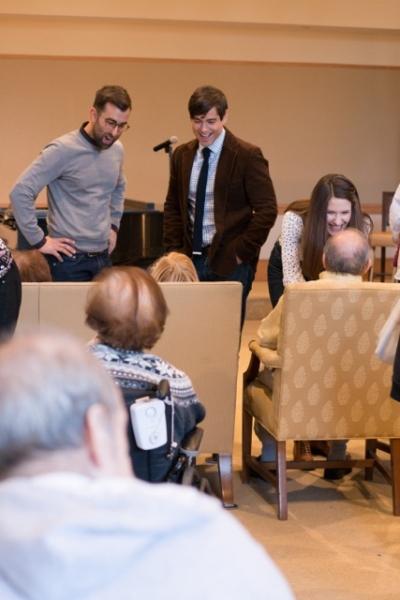 Joey Chancey, Daniel Torres and Jackie Vanderbeck