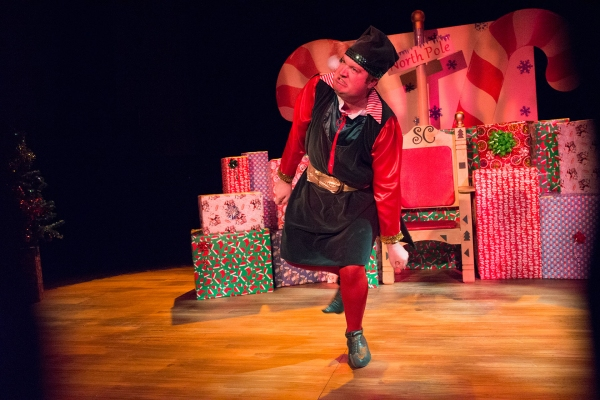 Photo Flash: First Look at Kevin Kennedy in RLTP's THE SANTALAND DIARIES