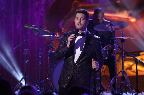 CHRISTMAS IN ROCKEFELLER CENTER -- Pictured: Michael Buble -- (Photo by: Peter Kramer/NBC)