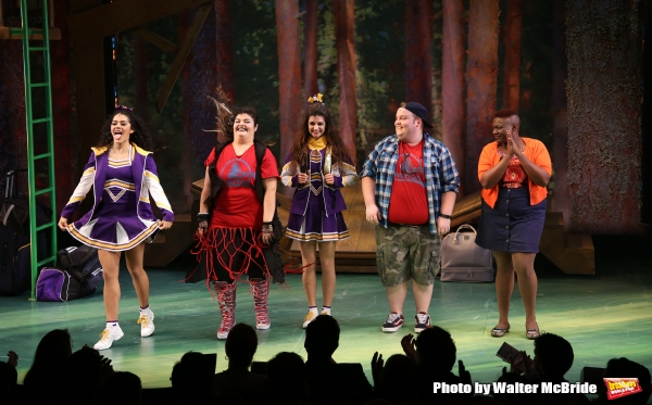 Photo Coverage: Vineyard Theatre's GIGANTIC Takes Opening Night Bows!