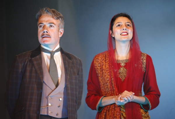 Robert Portal and Shanaya Rafaat