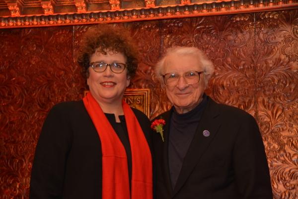 Judith Clurman and Sheldon Harnick
