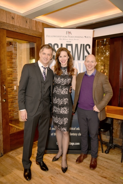 Michael Frederic, Christa Scott-Reed and Joel Rainwater