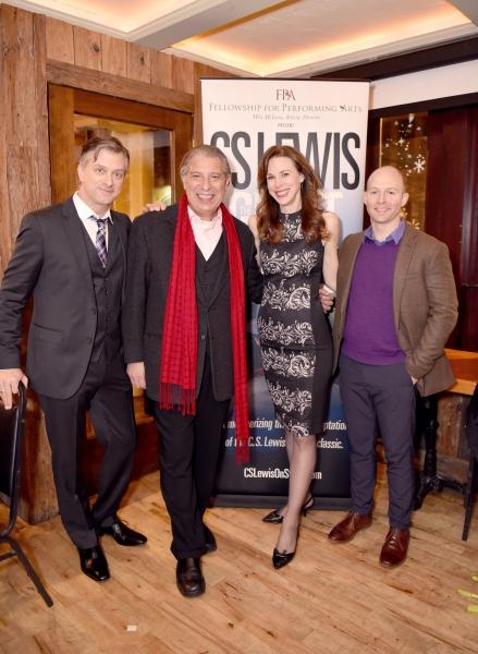 Michael Frederic, Max McLean, Christa Scott-Reed and Joel Rainwater