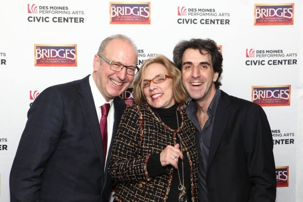 Jeff Chelesvig, Marsha Norman and Jason Robert Brown