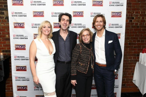 Elizabeth Stanley, Jason Robert Brown, Marsha Norman and Andrew Samonsky