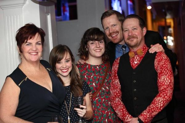 Mary Callanan, Caitlin Houlahan, Lila Rachel Becker, Matt Stokes and Cullen R. Titmas Photo