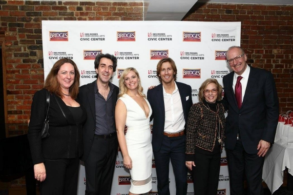 Meredith Blair, Jason Robert Brown, Elizabeth Stanley, Andrew Samonsky, Marsha Norman and Jeff Chelesvig