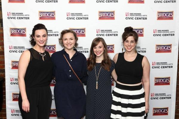 Trista Moldovan, Katie Klaus, Caitlin Houlahan and Amy Linden