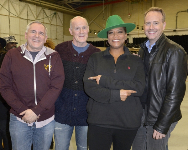 Craig Zadan, Executive Producer; Neil Meron, Executive Producer; Queen Latifah; Bob Greenblatt