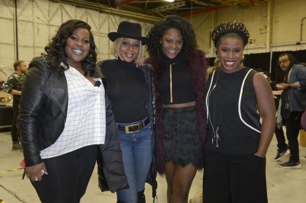 Amber Riley, Mary J. Blige, Shanice Williams, Uzo Aduba